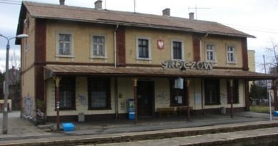 Działania społeczne na stacji kolejowej!